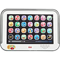 Fisher-Price CDG57 - Lernspaß Tablet, Kindertablet und Lernspielzeug mit mitwachsenden Spielstufen, grau, Kinder Spielzeug ab 1 Jahr, deutschsprachig