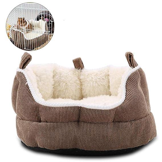 HEEPDD Pet Hamster Sofá Nido, Antideslizante Cama Colgante ...
