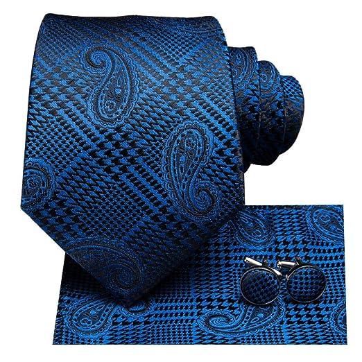 AK Corbata para hombre Sn-3236 Conjunto de corbata para hombre ...