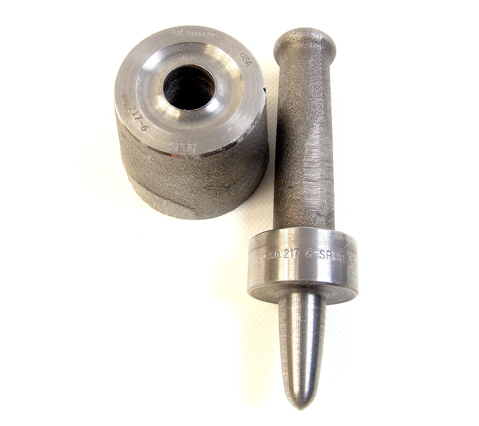 Grommet Setting Tool, C.S. Osborne #6 Rolled Rim Spur, 217-6, 1 Each by C.S. Osborne 217-6 Setting Tool