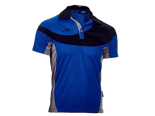 Ju-Sports Hombre Team Wear Element C1 Polo Azul: Amazon.es: Ropa y ...