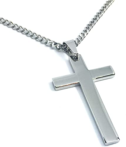 Linda Roberts Jewelry Christian Cross Pendant Necklace With Chain