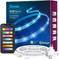 Govee Tiras LED 10m, Luces LED Bluetooth Control de App con 64 Modos de Escena y Sincronización de Música, Tira LED RGB…