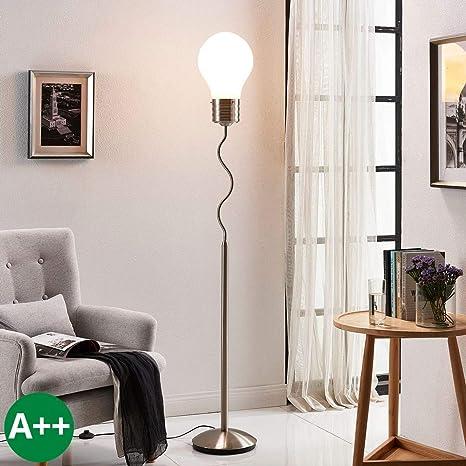 Lámpara de pie Bado (Moderno) en Blanco hecho de Metal ...
