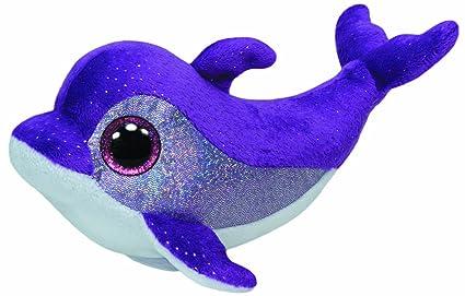 4ed28f142f6 Amazon.com  Ty Beanie Boos Flips - Dolphin  Toys   Games