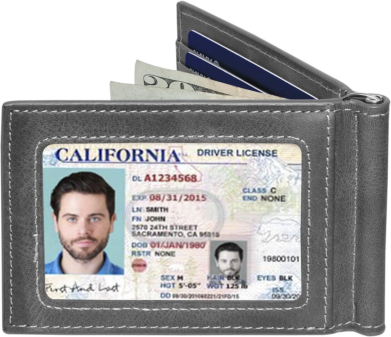 Slate Gray Minimalist ID Inside