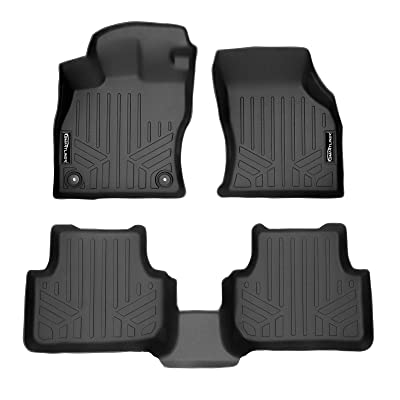MAXLINER Custom Fit Floor Mats 2 Row Liner Set Black for 2020-2020 Volkswagen Jetta: Automotive