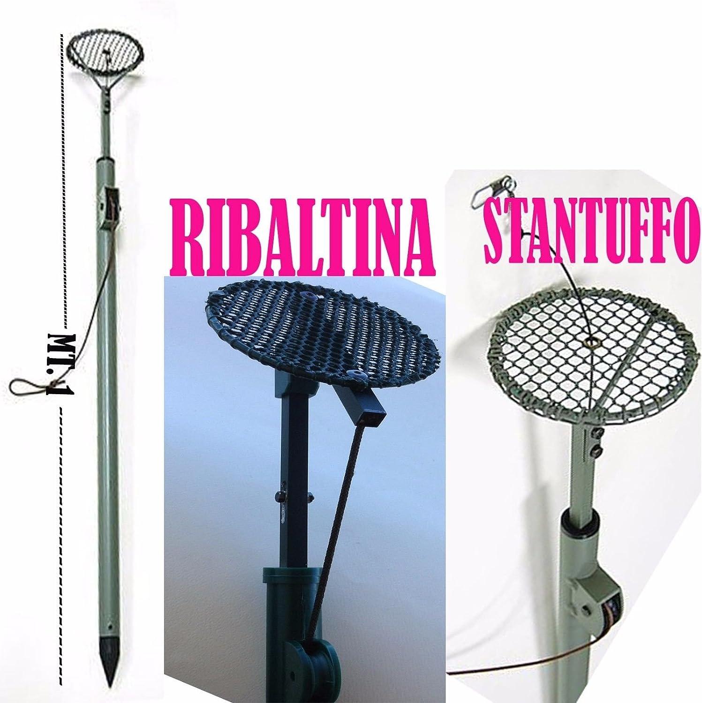 globe fishing Racchetta A STANTUFFO RIBALTINA per COLOMBACCIO Piccione Caccia Colombo ZIMBELLO