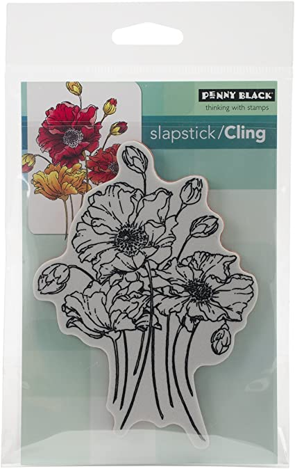 Penny Black 40-380 Swaying Slapstick Cling Stamp