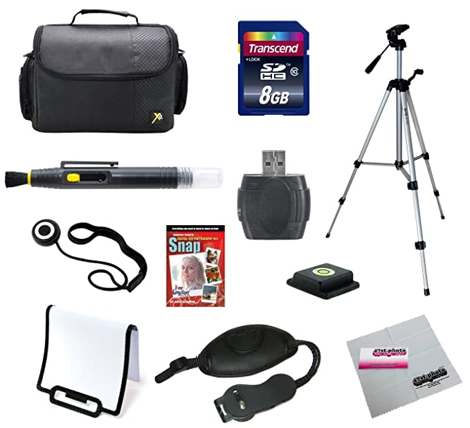 Cámara réflex digital 8 GB Super Kit de iniciación para Canon ...