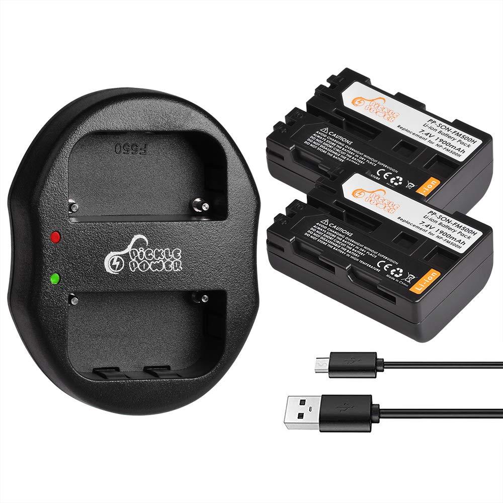 Calidad Usb Cargador Para Sony NP-FM500H Alfa Dslra 900 A700 A300 A500 A450 A200