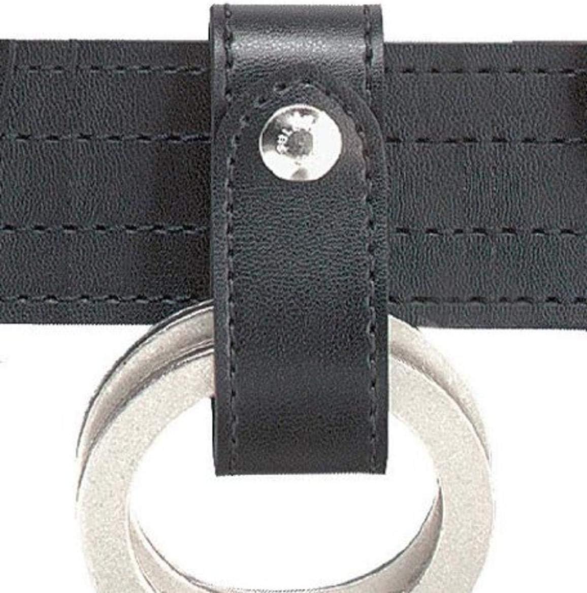 Black Single Snap Safariland 690 Handcuff Strap Plain