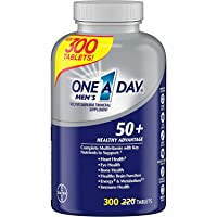 One A Day Expect More Men's 50+ Multivitamin, 300 Tablets