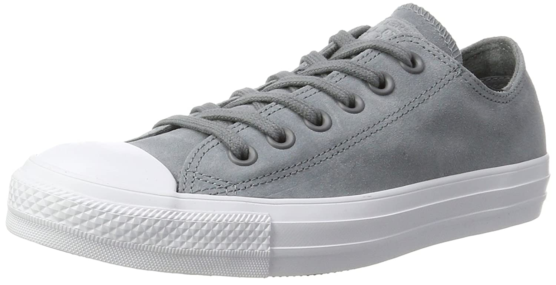 Converse Unisex-Erwachsene CTAS Ox Cool grau Weiß Turnschuhe
