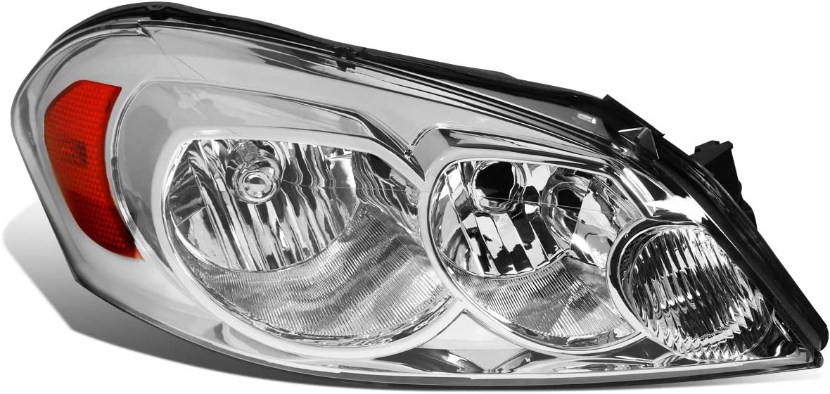 DNA Motoring OEM-HL-0037-R Factory Style Passenger//Right Side Headlight Lamp Assembly Replacement
