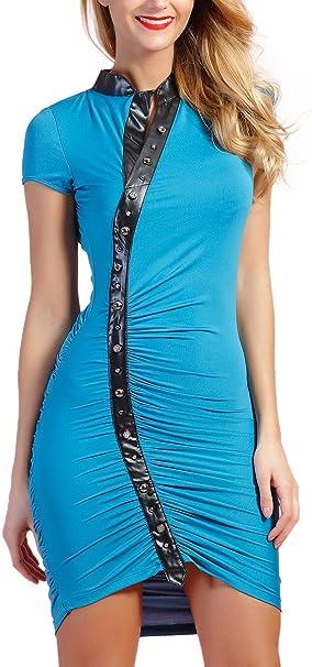 Bleu Cuir Robe Factory Outlet Bdb94 0a21d