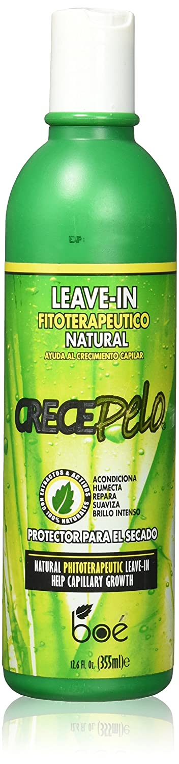 Amazon.com : BOE Crece Pelo Natural Leave-In, 12.6 Ounce : Hair And Scalp Treatments : Beauty