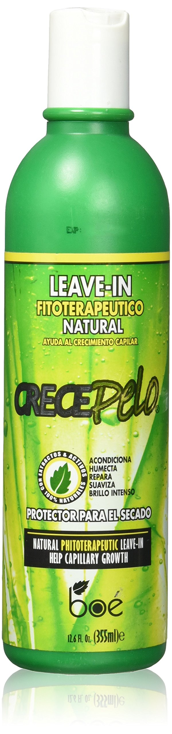 BOE Crece Pelo Natural Leave-In, 12.6 Ounce