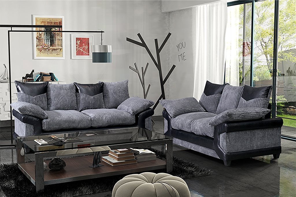 New York Sofa Company Chicago Jumbo Cable Panel de Tela y ...