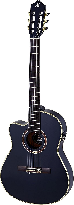 Ortega RCE138-T4BK-L - Guitarra electroacústica (para zurdos)