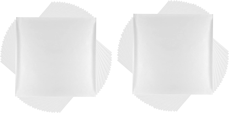 "12/"" x 12/"" Adhesive Decal Sheets Cricut Premium Vinyl Black /& White Removable"