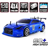 HSP RC Car 1/10 Scale 4wd Off Road RC Drift Car Electronic Monster Truck 4x4 Vehicle Toys Brushless Motor Lipo Battery…