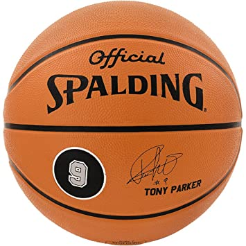 Spalding Ball Player Tony Parker 83-084Z - Pelota de Baloncesto ...