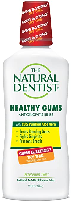 Natural Dentist Healthy Gums Antigingivitis Rinse