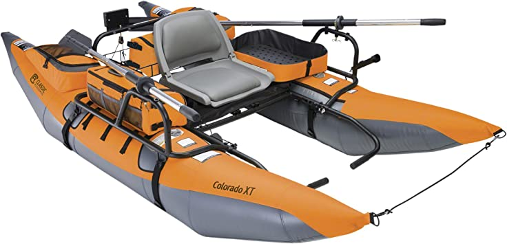Amazon.com: Bote pontón inflable XT Colorado con ...