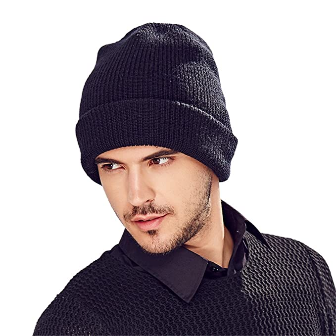 Kenmont Men s Beanie Cap Skull Knit Hat With 3M Repellent Technology Fall Winter  2016 a0bddde4183