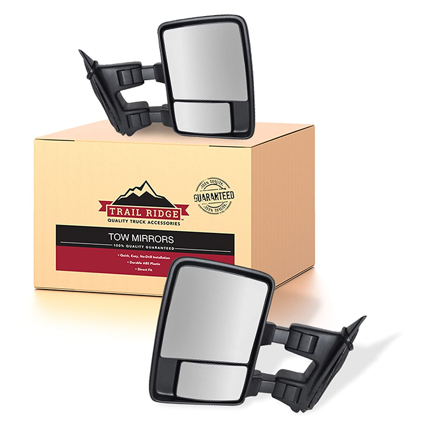 Power Heated Towing Mirrors Pair For 2003-07 Ford F250 Signals Clearance Lights
