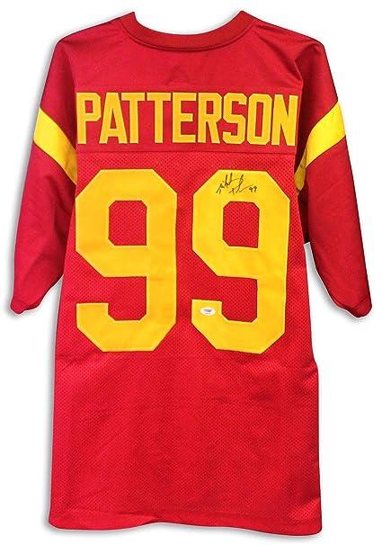 Mike Oakland Athletics Patterson Autographed Jersey Usc Trojans