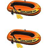 Amazon.com: Intex Challenger 3 – Barca inflable barco Set ...