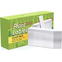 Kensizer 1000 Pcs 4 Inch Plastic Waterproof Plant Labels, Plant Name Tags, Garden Labels for Plants Marker