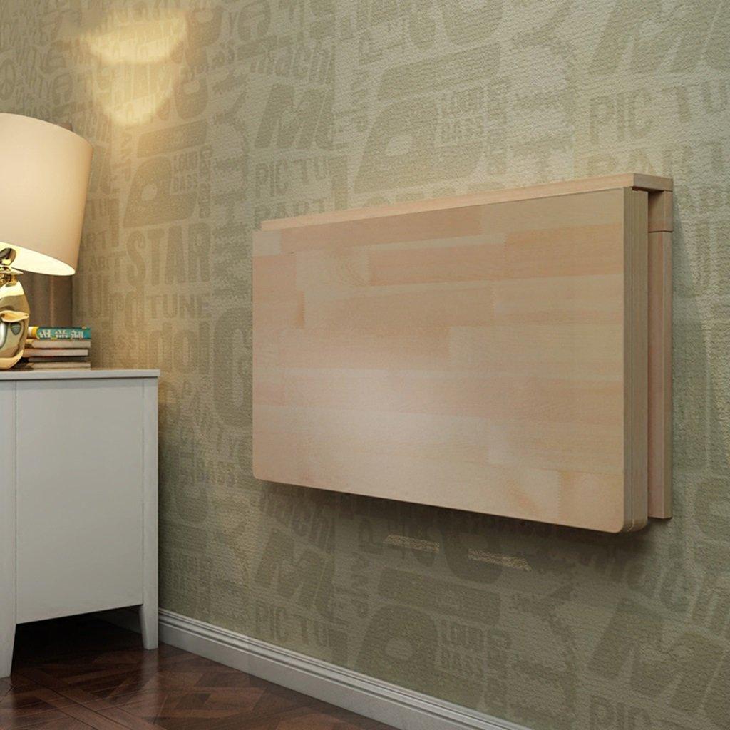 ソリッドウッドの壁のテーブルの折り畳みテーブルのダイニングテーブルコンピュータのデスクデスクの壁のテーブルラーニングテーブルFoldable 折畳式の (サイズ さいず : 60*45cm) B07D8SP2HR 60*45cm 60*45cm