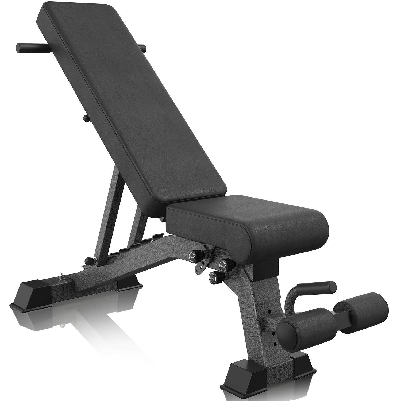 BARWING 9段階調節可能 傾斜傾斜 腹筋エクササイズ用座り上げベンチ ハンドル付き ドラゴンフラッグ用 耐荷重 全身トレーニング 折りたたみ式ベンチ ドラゴンフラッグ用