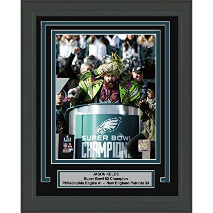 Image Unavailable. Image not available for. Color  Framed Jason Kelce  Parade Mummers Speech Philadelphia Eagles Super Bowl 52 ... c658349d2