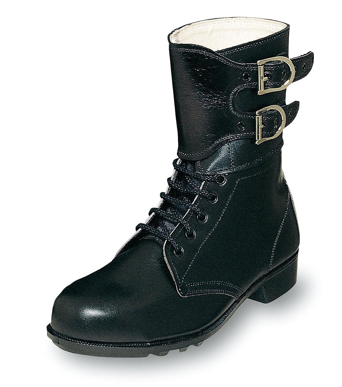 あらゆる作業に対応する普通作業用安全靴留め金付ブーツ 牛革製【安全靴】《004-S230》 B007N4SQW0 26.0 cm
