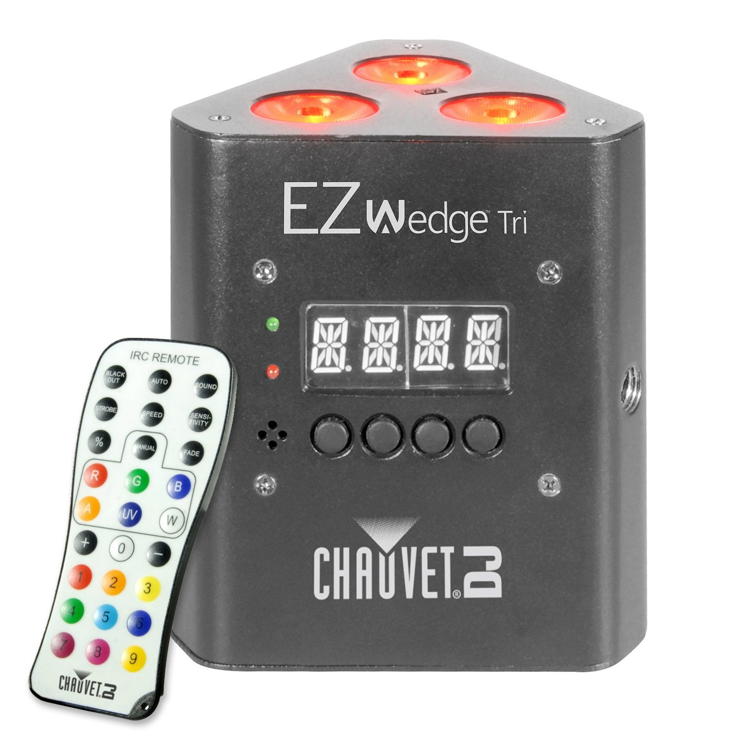 Chauvet DJ Lighting EZwedge Tri 4 Pack Special Effects DJ Lighting by Chauvet