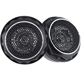 ePathChina 2pcs 140W T280 High Efficiency Mini Dome Tweeter Speakers for Car Audio System