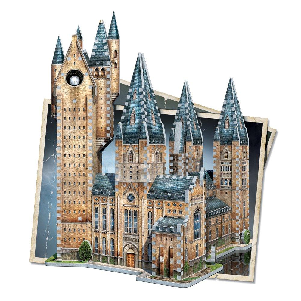 WREBBIT 3D Hogwarts Astronomy Tower 3D Jigsaw Puzzle (875 pieces) WREBBIT PUZZLES W3D-2015