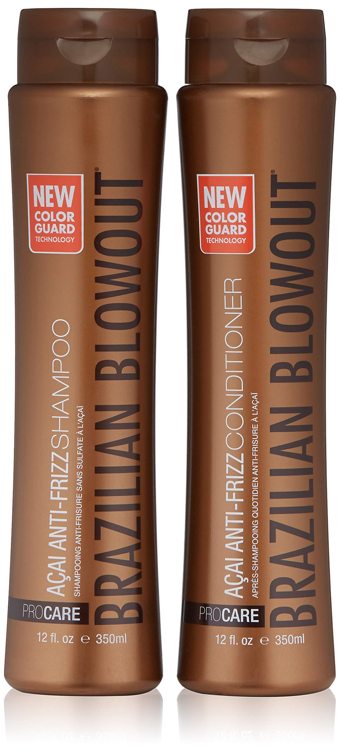 Brazilian Blowout Shampoo and Conditioner, 12 Fl Oz, Pack of 2 by BRAZILIAN BLOWOUT