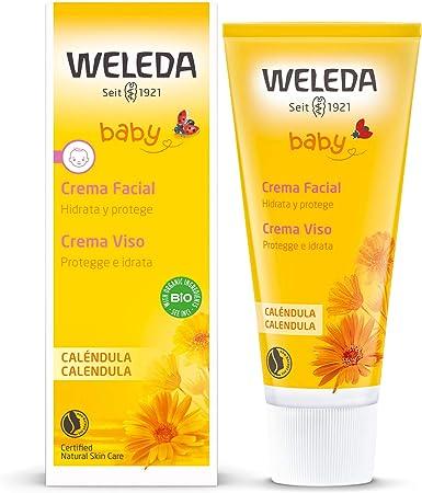 Weleda Crema Facial Baby Calendula, 50 ml