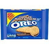 Oreo Chocolate Peanut Butter Pie Sandwich Cookies, Family Size (34 oz. Total) (2 Pack)