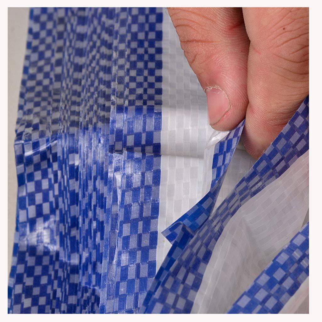 LRZS Blume Poncho Farbe Streifen Tuch dreifarbige Blume Tuch Blume dreifarbige Band Kunststoff Blume Plane Regen Tuch Plane Outdoor Schatten Tuch (Farbe : Bunte, größe : 5  5m) 3163d7