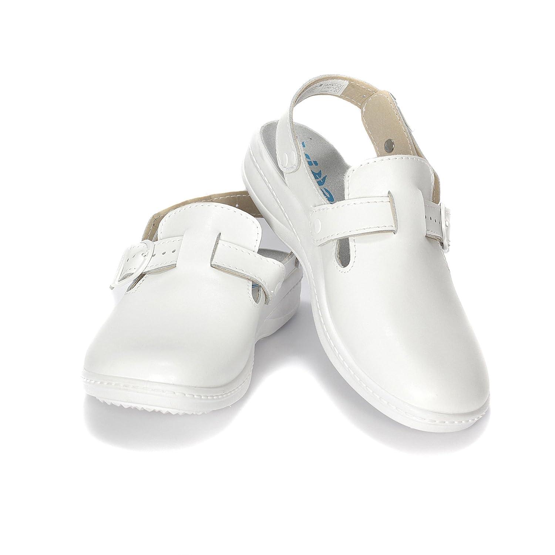 ROTAN Womens Professional Casual White Work Garden zuecos zapatos de mula para  enfermeras Blanco   1861 718a9b246e4a