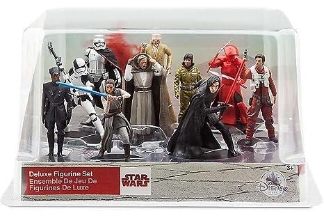 Luke Kylo Ren Star Set Ultimi Personaggi 10 Wars Jedi Pvc wPn0N8OXk