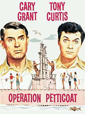 cary grant movie with pink submarine