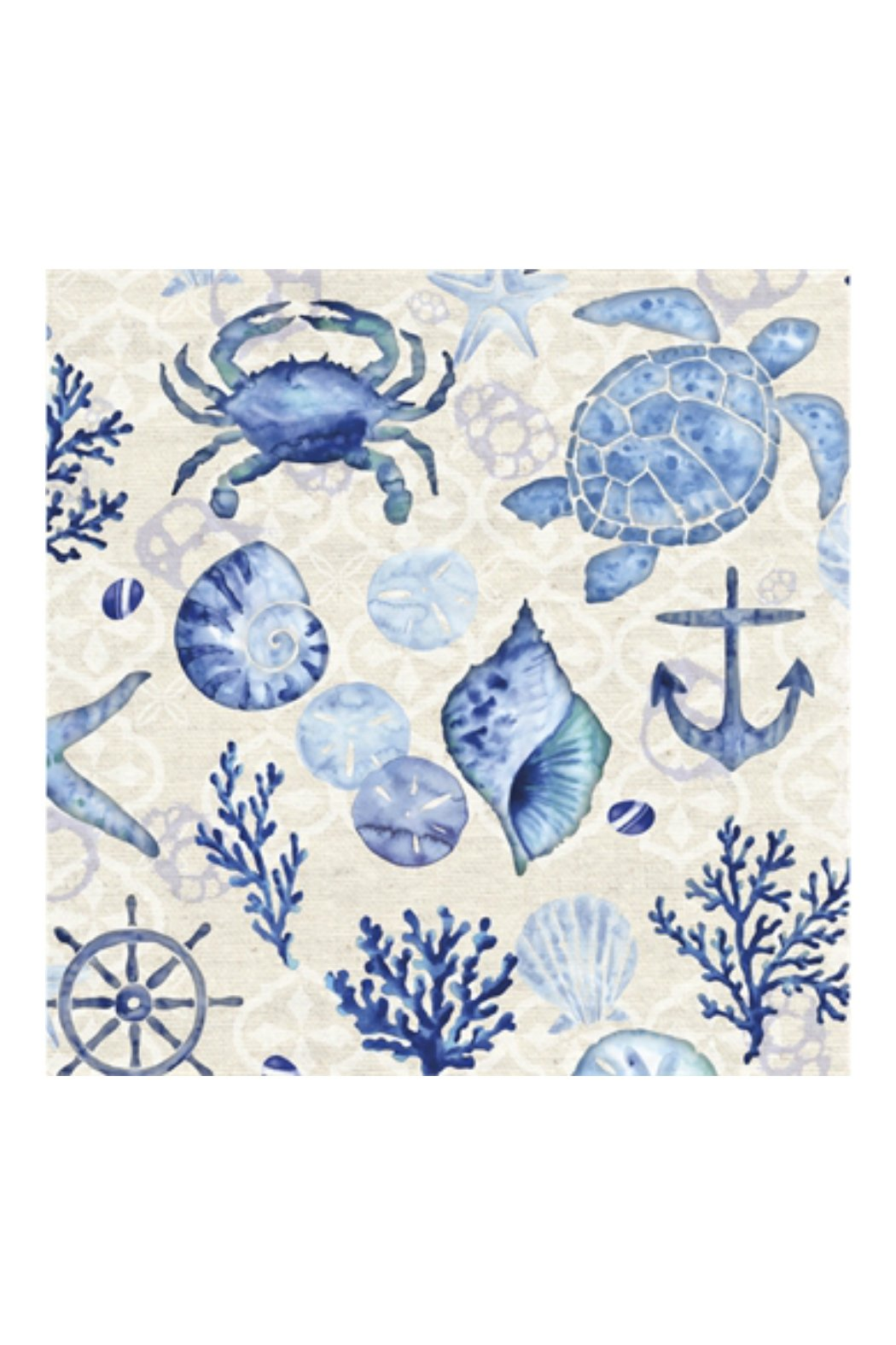 Cypress Home By the Sea Paper Luncheon Napkins, 20 ct