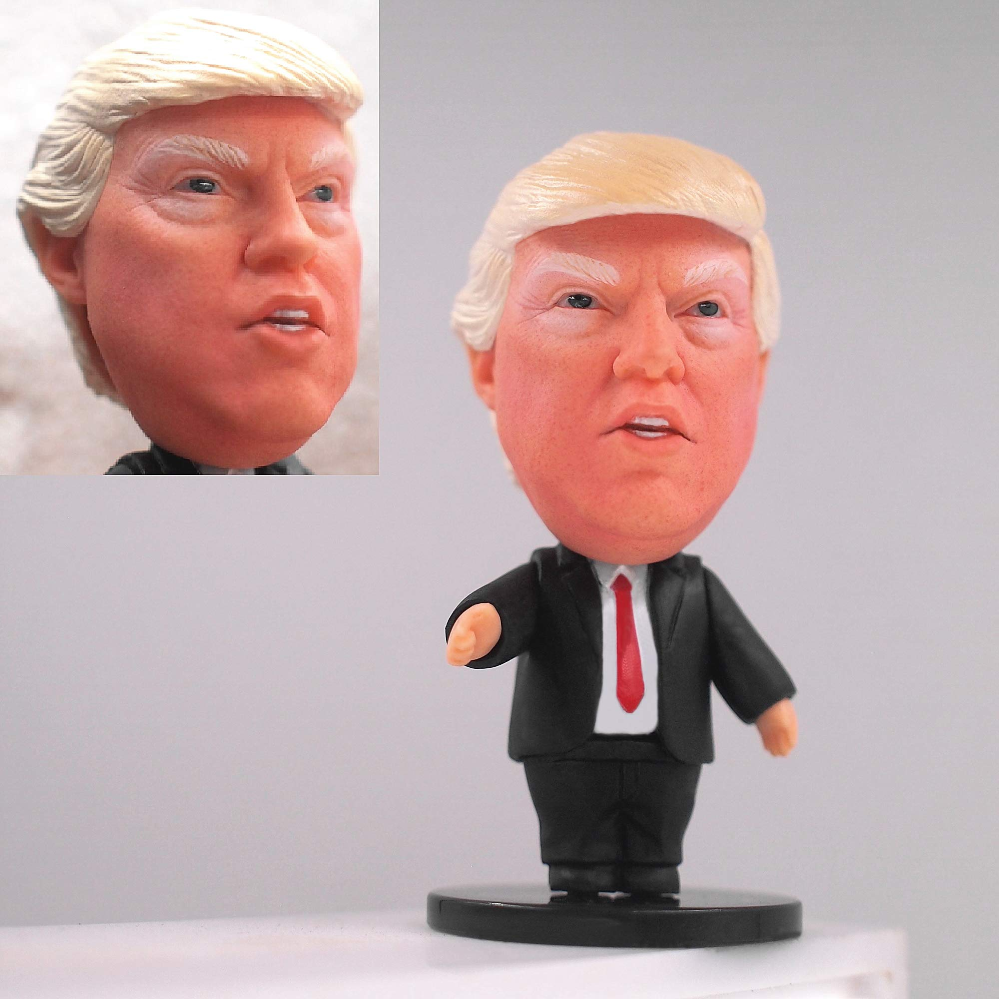 ZXT-parts Donald Trump Statue Figures Doll Exquisite Trump Gifts Trump Doll Celebrity President Series.Artist Hand-Painted Face, Collection Boutique.